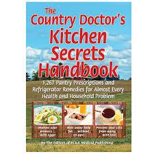 country doctor u0027s kitchen secrets handbook the fc u0026a u2013 fc u0026a store