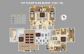 1379 sq ft 3 bhk 2t apartment for sale in rajwada group royal