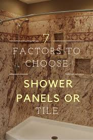 large white fiberglass tubs mixed black ceramic floor as well f are shower wall panels cheaper than tile 7 factors you need to