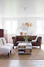 sofa leder braun chesterfield sofa ein stück klasse ins innendesign bringen