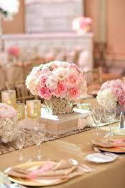 Christmas Wedding Decor - pink table decorations 30 gorgeous rustic burlap wedding ideas