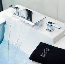 waterfall bathroom faucets the latest models of modern bathroom faucets u2014 the homy design