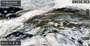 Alaska Fires Map by Broiled Alaska Soaring Temps Crackling Lightning Ignite Wildfires
