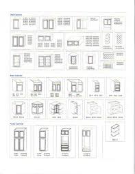 Dimensions Of Kitchen Cabinets Kitchen Design Standard Kitchen Cabinet Widths In Kitchen