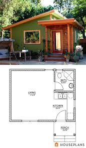 Shed Roof Home Plans by 31 Best Tiny House Plans Images On Pinterest Tiny House Plans