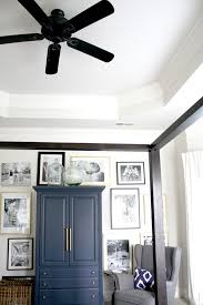 Decorating Bedroom Walls by Best 25 Black Ceiling Fan Ideas On Pinterest Industrial Ceiling