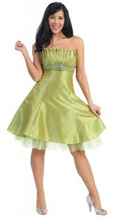 juniors formal dresses unique prom dresses in lime green