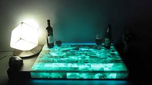Onyx Countertops Bathroom Onyx Light Led Illuminated With Glowing In The Dark Effects