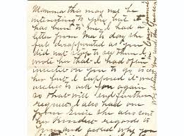 frank james handwritten letter pfc auctions