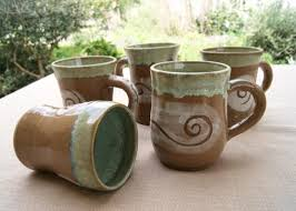 awesome picture of pottery mug designs catchy homes interior