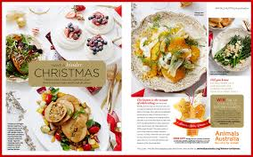 a kinder christmas appears in major australian magazines