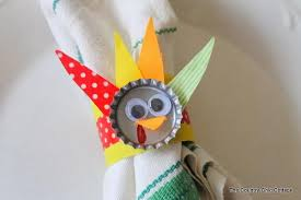 turkey napkin ring 18 diy thanksgiving napkin rings the bright ideas