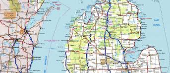 Nd Road Map Map Of Mich Emichigancity Com The Official Web Site Of The City Of