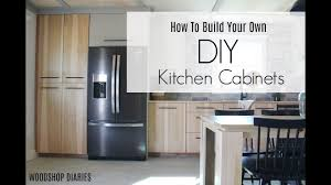how to build simple kitchen base cabinets how to build your own diy kitchen cabinets using only plywood