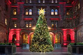 porsche with christmas tree christmas trees at luxury hotels around the world pursuitist