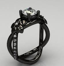 black rings women images Black wedding rings for women wedding decor ideas jpg
