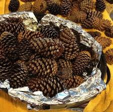 how to make a garland with pinecones bob vila