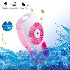 battery operated handheld fan d fantix handheld fan battery operated portable personal misting