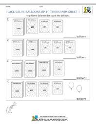 printable math games on place value free math place value worksheets 3rd grade
