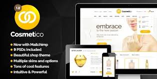nulled cosmetico v1 9 3 u2013 responsive ecommerce wordpress theme