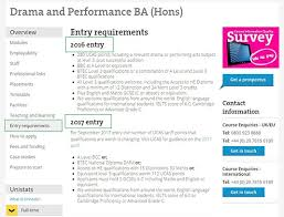 entry requirements undergraduate london south bank university