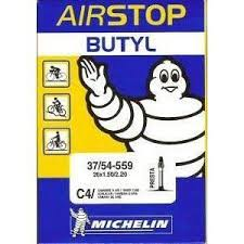 chambre à air butyl michelin chambre à air 26 pouces type c4 modèle airstop butyl