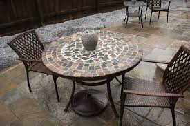 Patio Table Tile Top Tile Table Top Patio Furniture Home Design Ideas