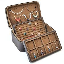 leather bracelet display images Jewelry display collections suitcase pendants rings bracelets jpg