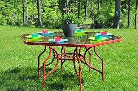 Patio Furniture On A Budget Patio Furniture Update On A Budget