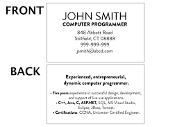 brief resume format mini resume template and examples