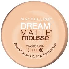 maybelline dream matte mousse classic ivory light 2 maybelline new york dream matte mousse foundation classic ivory i