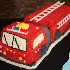 fire engine birthday cake and cookies cake icing cake and