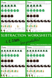 review of epson printer st patrick u0027s day subtraction printables
