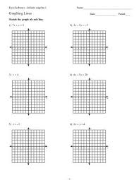 graphing quadratics in standard form worksheet free worksheets