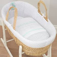 baby baskets hush baby moses basket new born baby bedding essentials ebay