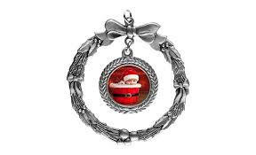 pewter wreath ornament details h h color lab