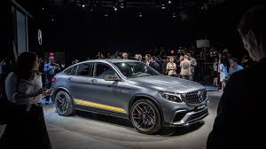 newest mercedes model mercedes amg glc 63 ott suv on sale now by car magazine