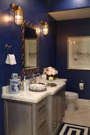 my style at home the powder room u2026 powder rooms navy paint and