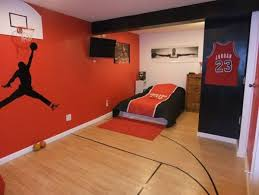 Basketball Bedroom Furniture by 20 Sporty Bedroom Ideas With Basketball Theme Dream House