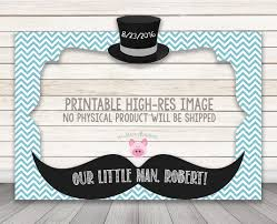 little man birthday invitations printable little man baby shower or birthday party photo booth