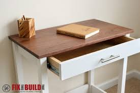 ana white writing desk diy projects