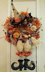 Witch Decorating Ideas Best 25 Halloween Witch Wreath Ideas On Pinterest Witch Wreath