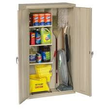 storage cabinets for mops and brooms mop and broom storage cabinet wayfair