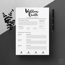 designer resume template design resume template best 25 cv template ideas on