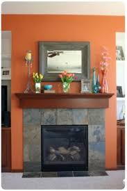 orange walls paint color is benjamin moore harvest moon my