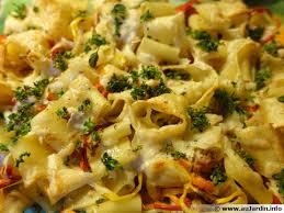 cuisine pates gratin de pâtes au thon recette de cuisine