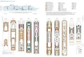 Cruise Ship Floor Plans Cruise Ship Layouts