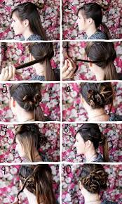step by step twist hairstyles 161 best hair step by step images on pinterest cute hairstyles