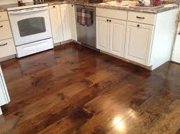 Wood Floor In Kitchen by Impeccable Big Space Of White Kitchen Furnishing Inspiring Design
