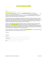 doc 572739 job offer letter sample u2013 job offer letter template